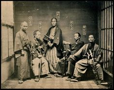 Just a couple of Samurai from the late 1800s.