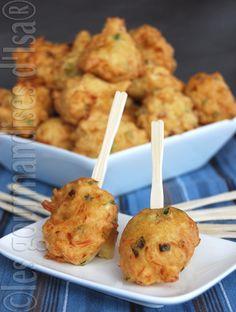 Accras de morue- Gourmandises d'Isa Simplement mon repas préférée!!