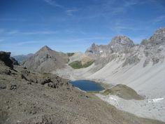 Rund um den Piz Ela - mystischer See, ist ein Kraftort! Im Ela-Park, Kanton Graubünden.