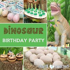 Dinosaur Birthday Party: Party Ideas