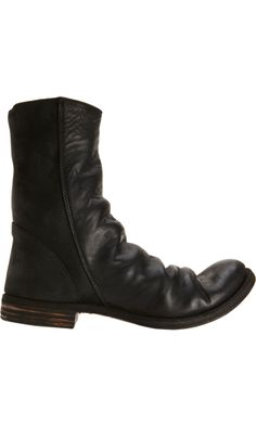 A Diciannoveventitre Double Side Zip Boot