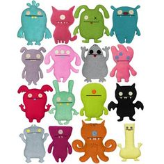 Ugly Dolls... got one of these for my baby shower and now this is all I buy for baby showers.. I think they are hilarious!! Totally forgot about these till I came across it in the Pinterest home feed :)