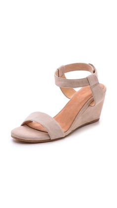Either this or those Esska shoes  Madison Harding Sogo Low Wedge Sandals Size 5.5 Colour: nude