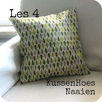 Kussenhoes naaien - like the pattern on this fabric Sewing Lessons, Sewing Hacks, Sewing Tutorials, Sewing Paterns, Diy Cushion, Sewing Projects For Beginners, Diy Projects, Diy Pillows, Free Sewing