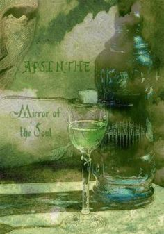 Absinthe tried it here in the states and it's bogus not the real deal Deviant Art, Green Fairy Absinthe, Artemisia Absinthium, Shades Of Green, 50 Shades, World Of Color, My Favorite Color, Green Colors, Vintage Posters