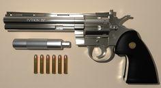 Ammo and Gun Collector: Colt Python .357 revolver 8 inch barrel