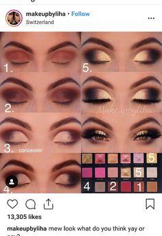 everyday makeup looks, natural makeup looks, no makeup makeup, affordable makeup… – Makeup – Woman – Beauty Dramatic Eye Makeup, Eye Makeup Steps, Glowy Makeup, Cute Makeup, Sephora Makeup, Eyeshadow Makeup, Drugstore Makeup, Eyeshadows, Makeup Brushes