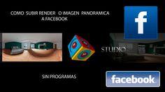 como subir imagen panorámica (360º) a facebook sin programas Facebook, Panoramic Photography