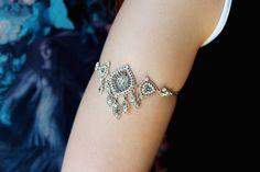 Gypsy Armlet Prom Arm Band Gypsy Armet Arm Jewelry by JustStylish, $35.00