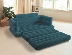 Intex Pull-out Sofa Inflatable Couch Dorm Chair Queen Bed Mattress Sleeper Futon Bedroom, Sofa Bed Mattress, Sectional Sleeper Sofa, Sofa Beds, Chair Bed, Couch Furniture, Settee Sofa, Accent Furniture, Home