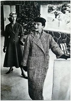 Harpers Bazar - 1954 - Ferdinandi Haute Couture