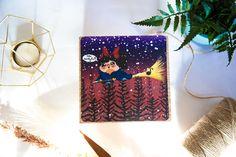 Bokkie Kiki's Ride Adventure Fan Art Print