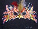 Artsonia Art Exhibit :: Mardi Gras Masks