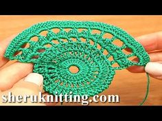 Crochet Lace Tape Pattern Tutorial 9 Part 1 of 2 Lace Crochet - YouTube