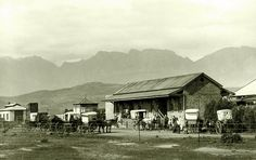 The first Strand station Somerset West, Cape Town South Africa, History Photos, Antique Maps, Old Photos, The Good Place, Old Things, Pictures, Image