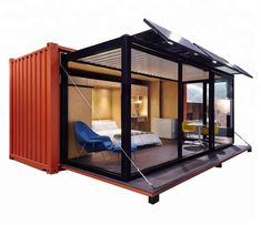 expandable container hosue prefabricated home in china Container Design, Container Homes For Sale, Container House Plans, Container Buildings, Container Architecture, Prefab Homes, Modular Homes, 40ft Shipping Container, Theme Hotel
