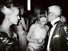 Karl Lagerfeld & Anna Wintour