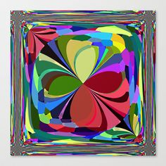Re-Created ButterfliesXVII #Stretched #Canvas by #Robert #S. #Lee - $85.00