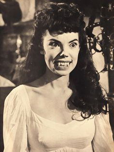 "coitusandcarnage: "" Yvonne Monlaur The Brides Of Dracula, 1960 "" Hammer Horror Films, Hammer Films, Monster Squad, Monster Mash, Horror Art, Horror Movies, Cute Backgrounds For Phones, Horror Themes, Female Vampire"