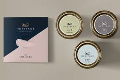 Dulux Heritage packaging concept by Thnadech Kummontol