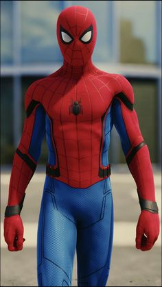 The Best Spiderman Wallpaper for your Smartphone Taken from In Game Photo Amazing Spiderman, All Spiderman, Spiderman Suits, Spiderman Costume, Marvel Avengers, Marvel Heroes, Spiderman Homecoming Ps4, Superman Black Suit, Homecoming Suits