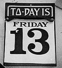 Del viernes 13 y otras supersticiones... #artículo #viernes13
