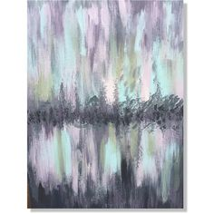 Abstract Painting, Abstract Art, Purple Abstract Art, Gray Abstract... ($45) ❤ liked on Polyvore featuring home, home decor, wall art, purple wall art, painted wall art, purple abstract wall art, canvas wall art and grey wall art