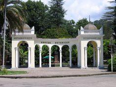 Sukhumi botanical garden front entrance ◆Abkhazia - Wikipedia http://en.wikipedia.org/wiki/Abkhazia #Abkhazia