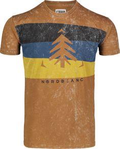 Zelené pánske bavlnené tričko SCENERY - NBSMT7264 | NORDBLANC Presents, Mens Tops, T Shirt, Shopping, Fashion, Gifts, Tee, Moda, La Mode
