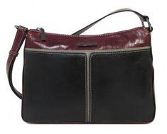Umhängetasche Claudio Ferrici Bordo/black Damen - Bags & more Rebecca Minkoff, Bags, Small Mirrors, Dime Bags, Leather Cord, Shoulder, Handbags, Lv Bags, Purses