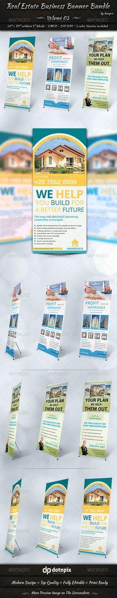 Real Estate Business Banner Bundle | Volume 3