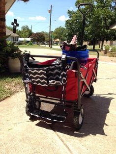 """""""On a Stroll Bag"""" is Perfect for those collapsible wagons that we all take to parks and sporting events!! They are great for strollers, walkers and wheelchairs too!"""