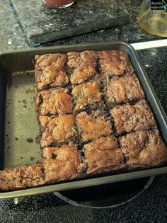zucchini brownies (no flour of any kind)