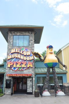 The Mellow Mushroom at the Island in Pigeon Forge!