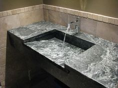 Soapstone Vessel Sink : ... Soapstone on Pinterest Sinks, Soapstone countertops and Soapstone