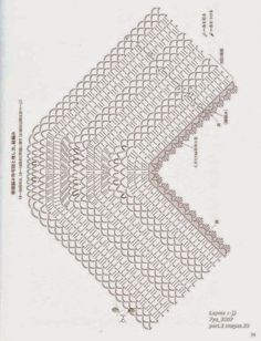 Hip & Kneuterig: Nog een mooie pocho met diagram/ Poncho with free pattern