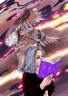 Owl, Illustrations, Artist, Anime, Design, Owls, Illustration, Artists, Illustrators
