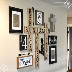 If you are looking for Diy Pallet Wall Art Ideas, You come to the right place. Here are the Diy Pallet Wall Art Ideas. This article about Diy Pallet Wall Art Ide. Farmhouse Wall Decor, Rustic Wall Decor, Rustic Walls, Bedroom Rustic, Diy Bedroom, Bedroom Ideas, Rustic Gallery Wall, Family Wall Decor, Dinning Room Wall Decor
