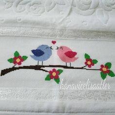 This Pin was discovered by Ays Cross Stitch Charts, Cross Stitch Designs, Crewel Embroidery, Embroidery Designs, Felt Ornaments Patterns, Frame Crafts, Hand Art, Turkish Towels, Bargello