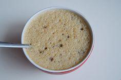 Recept voor chiapudding. Een overnight ontbijt met amandelmelk of Griekse yoghurt, banaan en chiazaadjes.