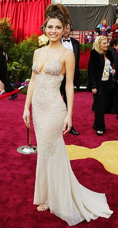 Maria Menounos At The 2004 Oscars In Randi Rahm 2 5 Million Dollar Diamond Gown