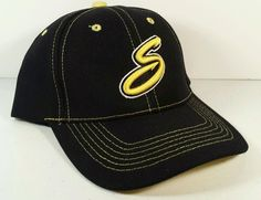 Willmar Stingers Embroidered Cap NCAA Northwoods League Baseball OSFA Black Hat in College-NCAA | eBay