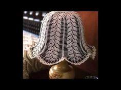 Lamparas tejidas a crochet - YouTube Lighting, Chandeliers, Home Decor, Google, Youtube, Crochet Flowers, Crochet Doilies, Fabrics, Hanging Lamps