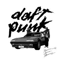 Daft Punk / Random Access Memories - Tribute artwork by Federico Mancosu