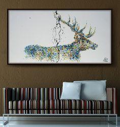 Tropical Tortue Feuille Toile imprim/ée Peinture /à lhuile dhuile Affiches Photo Dessin pour la Maison Mur de Bureau