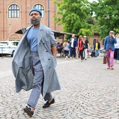 "billy-george: ""Ouigi Theodore Spotted at Pitti Uomo 90 Photo by Lee Oliveira """