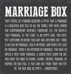 Quote & Saying About Dating Image Description The Marriage Box full of Love Dares Marriage Box, Marriage Prayer, Godly Marriage, Marriage Goals, Marriage Relationship, Love And Marriage, Strong Marriage, Happy Marriage Quotes, Marriage Quotes Struggling