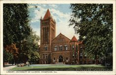 Library , University of Illinois , Champaign