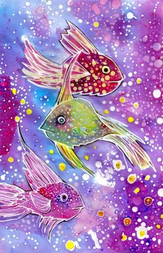 Batik Fish by ~dawndelver on deviantART