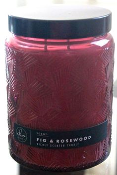DW HOME INC CANDLE NEW FIG & ROSEWOOD 17.29 OZ 2 WICK GLASS BALL JAR DMD5005  | eBay